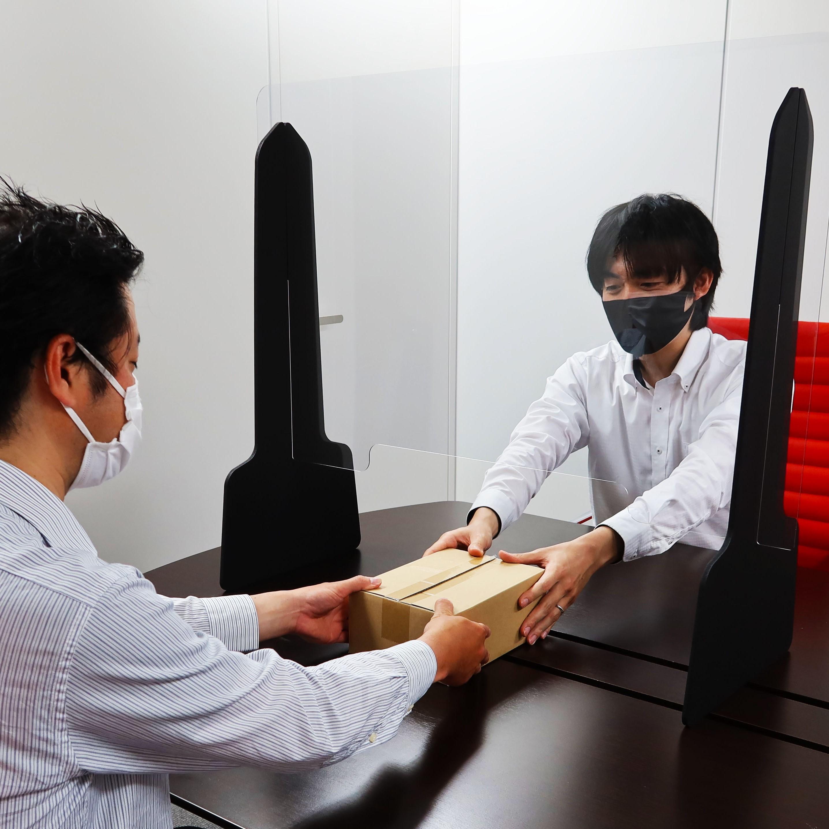 コロナ飛沫防止シート 塩ビ パーテーション 簡易型