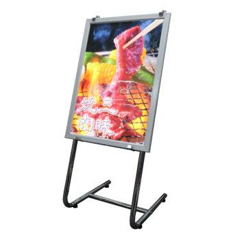 L型スタンド防水LED立て看板 A2サイズ